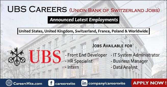 UBS Careers